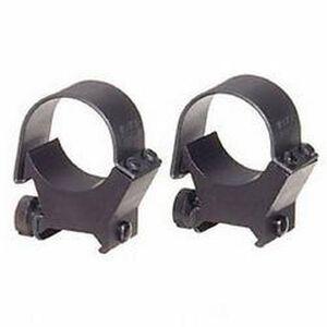 Weaver 30mm Detachable Top-Mount Rings Low Black Matte 49121