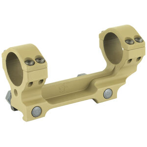 """Knights Armament Company One Piece Scope Mount 30mm Tube Diameter Picatinny Compatible 1.5"""" Ring Height Aluminum Construction Taupe"""