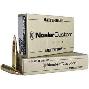 Nosler Custom .223 Rem 77 Grain Match HP 20 Round Box