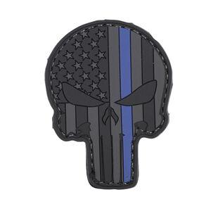 5ive Star Gear L.E. Punisher Thin Blue Line PVC Black Grey Blue