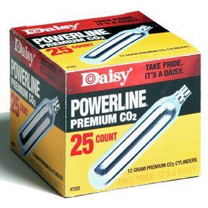 Daisy PowerLine Premium CO2 Cartridge 12 Gram 25 Pack 7025