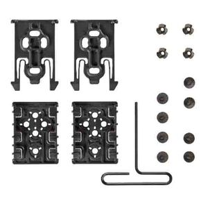 Safariland Equipment Locking System Four Piece Kit Polymer Black ELS-KIT1-2