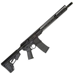 "Seekins Precision NXR16 AR-15 Semi Auto Rifle .223 Wylde 16"" Match Grade Barrel 30 Rounds 15"" NOXs Free Float Rail Collapsible Stock Billet Upper/Lower Matte Black"