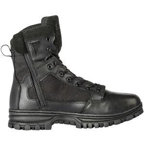 """5.11 Tactical EVO Men's 6"""" Side Zip Boot Size 8.5 Regular Black"""