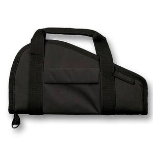 """Bulldog Tactical Black Pistol Rug, 18""""x8"""", Nylon, Black"""