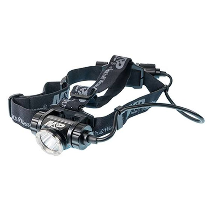 Delta Force HL-20 Headlamp LED with Rechargeable Li-Ion Battery Aluminum Black