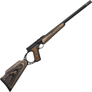 "Browning Buck Mark Target SR Semi Auto Rimfire Rifle .22 LR 18.375"" Heavy Threaded Barrel 10 Rounds Gray Laminate Target Stock Matte Black Finish"