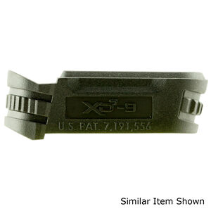 Springfield Armory XD-S .45 ACP Magazine Sleeve #1 Polymer Matte Black Finish
