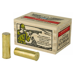 "Winchester Victory Series 12 Gauge Ammunition 5 Rounds 2-3/4"" 00 Buckshot 9 Pellets  Full Brass Casing 1100fps"