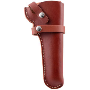 Hunter Company 1100 Series Size 60 Snap Off Belt Holster for Single Action .22 Revolvers Right Hand Leather Chestnut Tan