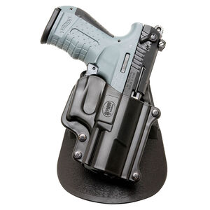 Fobus Holster Walther P22 Right Hand Paddle Attachment Polymer Black