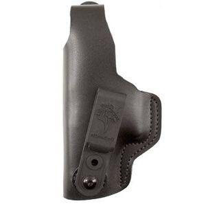DeSantis Dual Carry II S&W IWB/OWB Holster M&P Shield Left Hand Leather Black 033BBX7Z0