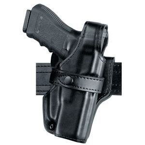 Safariland Model 70 SSIII GLOCK 20, 20C, 21, 21C Mid Ride Level III Retention Duty Holster Right Hand Hi Gloss Black 070-383-91