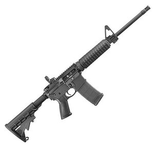 "Ruger AR-556 5.56 NATO Semi Auto Rifle 16.1"" Barrel 30 Rounds Collapsible Stock Black"