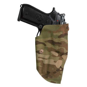 Safariland Model 6378 USN ALS Concealment Paddle Holster Right Hand Fits Beretta 92FS Belt Loop Included 330/500 Denier Multicam