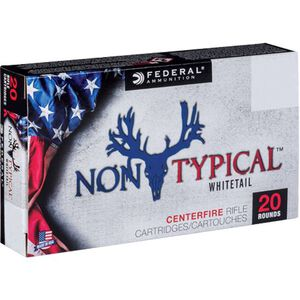 Federal Non-Typical .270 Win Ammunition 20 Rounds 150 Grain SP Bullet 2390fps