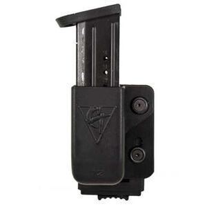Comp-Tac Single Magazine Pouch PLM Left Side Carry Fits GLOCK 9mm/.40 Kydex Black