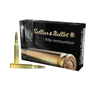 Sellier & Bellot 7x64mm Brenneke Ammunition 400 Rounds SPCE 173 Grains SB764B