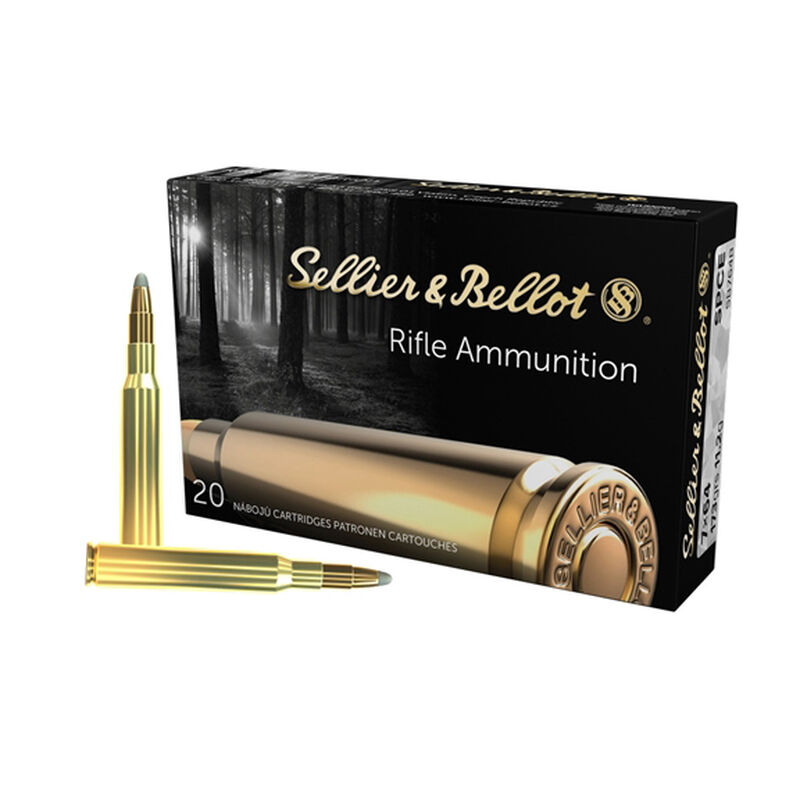 Sellier & Bellot 7x64mm Brenneke Ammunition 400 Rounds SPCE 173 Grains SB764B