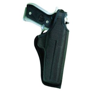 Bianchi 7001 AccuMold Thumbsnap Holster Medium to Large Frame Semi-Automatic Handguns Belt Holster Left Hand Plain Black 17722