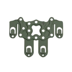 BLACKHAWK! S.T.R.I.K.E. Ambidextrous Holster Adapter Platform PALS/MOLLE Mountable Injection Molded Polymer OD Green 38CL63OD