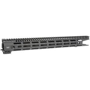 "Midwest Industries G3 M-Series AR-15 Free Float Extended Handguard 17.5"" M-LOK Aluminum Black MI-G3M17XR"