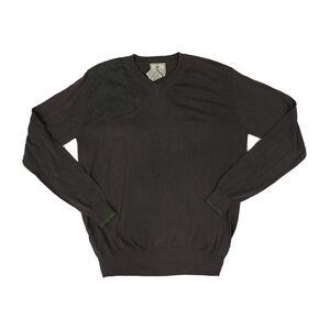 Beretta Men's Country Classic V-Neck Sweater Size Medium Wool Blend Ivy Green