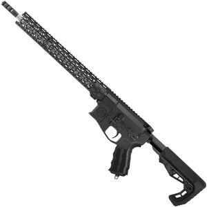 "Unique-ARs UltraLight-15s 5.56 NATO AR-15 Semi Auto Rifle 16"" Barrel 30 Rounds .223 Wylde Chamber Slim M-LOK Compatible Handguard Collapsible Stock Black"