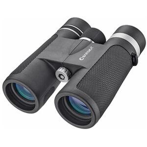 BARSKA Lucid View 10x42mm Full Sized Binoculars BK-7 Roof Prism Rubber Coating Alloy Body Matte Black