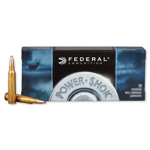 Federal Power-Shok .223 Rem Ammuntion 64 Grain JSP 3050 fps