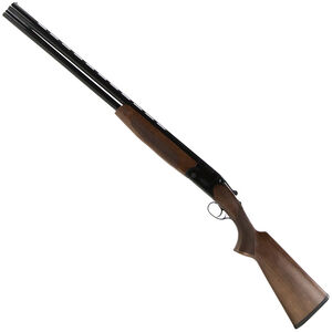 "CZ-USA Drake Southpaw Left Handed O/U Break Action Shotgun 20 Gauge 28"" Vent Rib Barrels 2 Rounds 3"" Chamber Walnut Stock Gloss Black Chrome Finish"