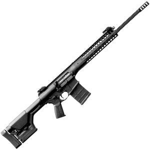 "LWRC REPR MK II .308 Win AR Style Semi Auto Rifle 20"" Barrel 20 Rounds Side Charging Handle Flip-Up Sights Magpul PRS Stock Tungsten Grey Finish"
