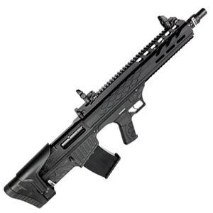 "SDS Imports Radikal NK-1 12 Gauge Semi Automatic Bullpup Shotgun 19"" Barrel 3"" Chamber 5 Rounds Fixed Synthetic Stock Matte Black Finish"