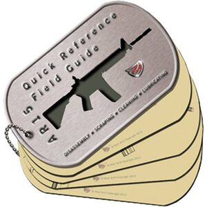Real Avid AR15 Field Guide Illustrated Quick Reference Guide Laminated