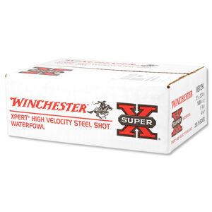 """Winchester Super X Expert 12 Gauge Ammunition 25 Rounds 2.75"""" #4 Steel 1.125 Ounce WEX12H4"""
