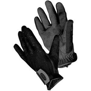 Bob Allen Shotgunner's Gloves Small Mesh Body Suede Palm Velcro Wrist Strap Black