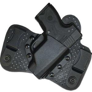 Beretta Hybrid for NANO Pistol IWB Holster Tuckable Right Hand Kydex/Leather Black