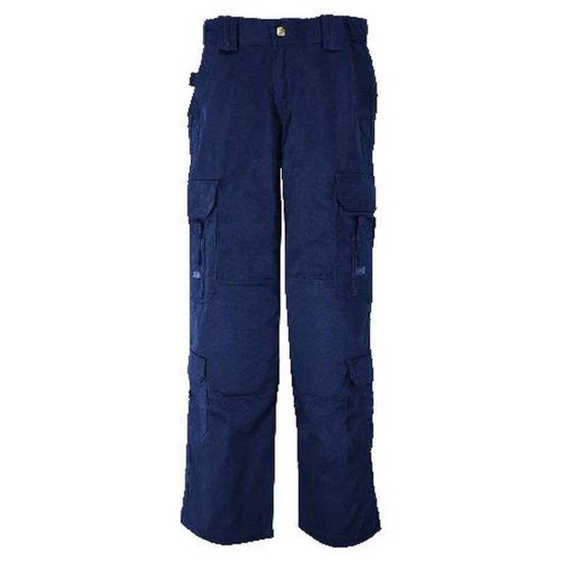 5.11 Tactical Women's EMS Poly/Cotton Twill Pant Size 8 Regular Dark Navy 64301