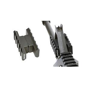 GG&G Dually Dual Rail Front Sight Accessory Mount Aluminum Black