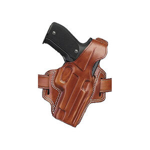 Galco F.L.E.T.C.H. High-Ride Belt Holster FN Five-SeveN USG Right Hand Leather Tan FL458