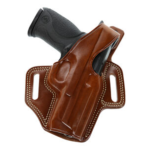 Galco Fletch High Ride Belt Holster for Glock 48 & Shield EZ 9mm Right Hand Leather Tan