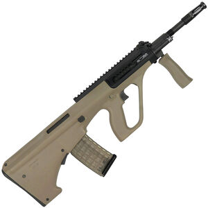 """Steyr AUG A3 M1 Semi Auto Rifle 5.56 NATO 16"""" Nitride CHF Barrel 30 Round AUG Pattern Magazine Extended Picatinny Rail Synthetic Polymer Stock Mud"""