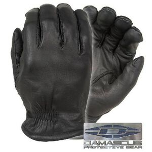Damascus Gear Frisker-S Leather Cut Resistant Gloves w/Spectra Liner 2XL Black