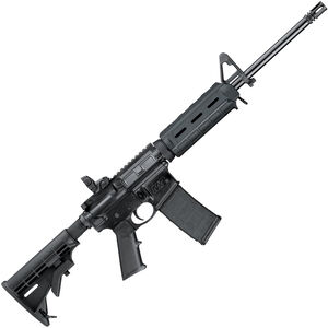 """S&W M&P15 Sport II Magpul MOE M-LOK 5.56mm NATO AR-15 Semi-Auto Rifle16"""" Barrel, 30 Rounds, Collapsible Stock, A2 Front Sight, Magpul MOE M-LOK Hand Guard, Matte Black"""