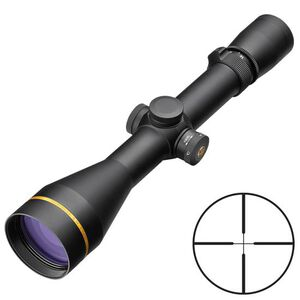 Leupold VX-3i 4.5-14x40 Rifle Scope Duplex Non-Illuminated Reticle 30mm Tube .25 MOA Adjustment Side Focus Parallax Second Focal Plane Matte Black Finish 170699