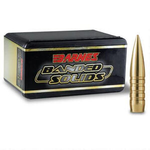 Barnes .50 BMG Bullets 20 Projectiles Banded LF 800 Grains