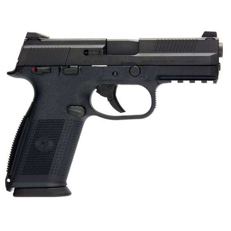 """FN FNS-9 Semi Auto Handgun 9mm Luger 4"""" Stainless"""
