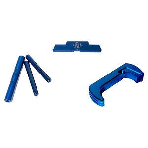 Cross Armory Glock Upgrade Kit 3 Piece For Gen 5 Glock Blue Anodized