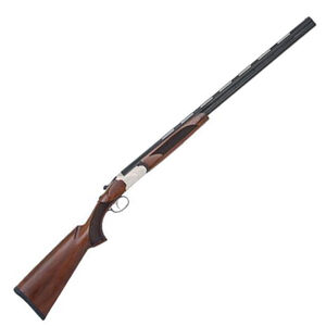 "Mossberg Silver Reserve II Field Over/Under Shotgun .410 Bore 26"" Vent Rib Barrels 3"" Chambers Black Walnut Stock Silver Receiver Blued 75417"