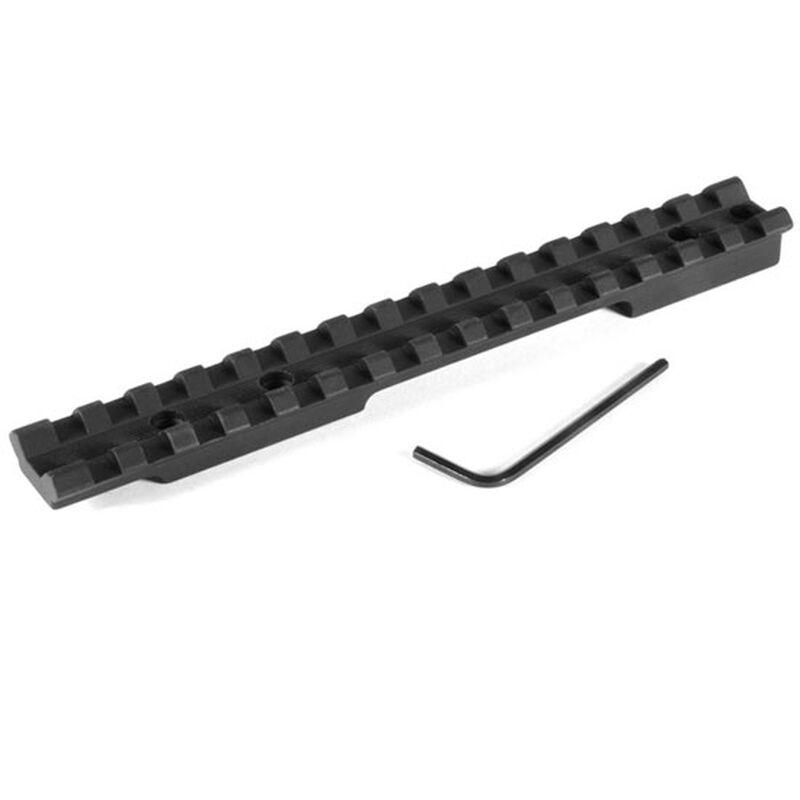 EGW One Piece Picatinny Scope Mount Remington 700, 721, 725 Long Action 0 MOA Aluminum Black 40100